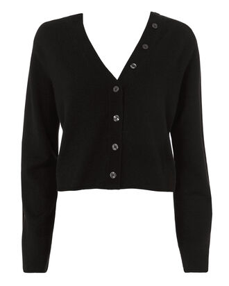 Wittier Cardigan, BLACK, hi-res