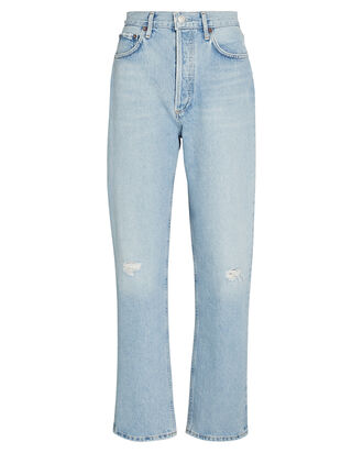 Fitted 90s Straight-Leg Jeans, FLASHBACK, hi-res