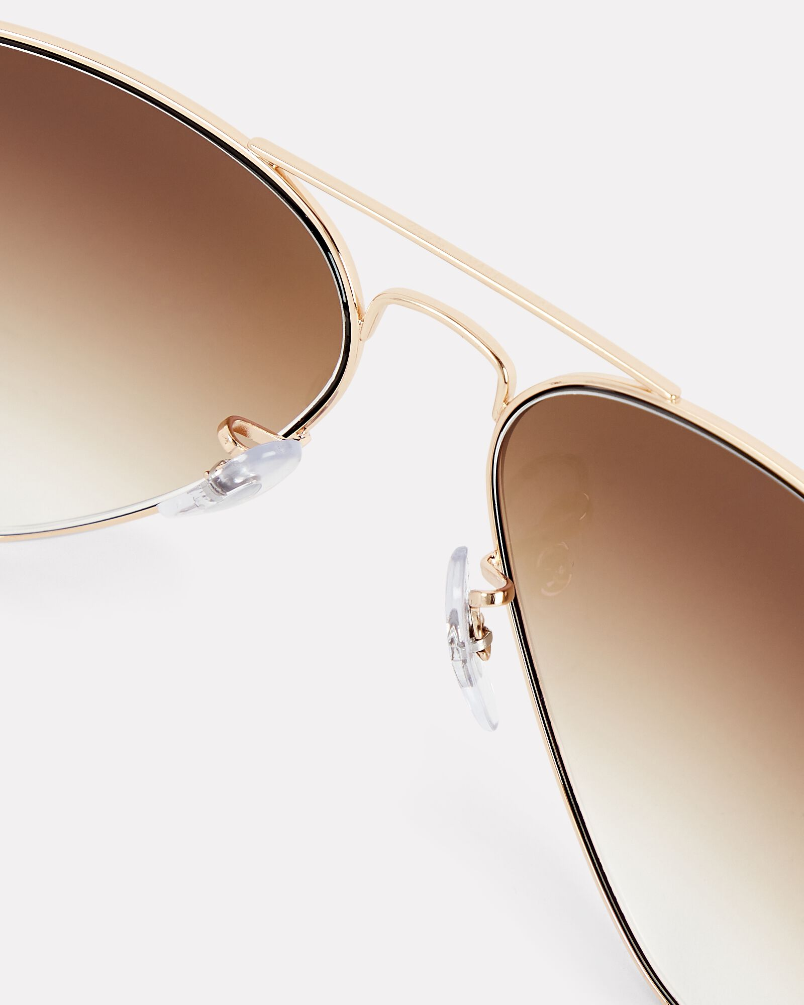 Classic Aviator Sunglasses, GOLD, hi-res