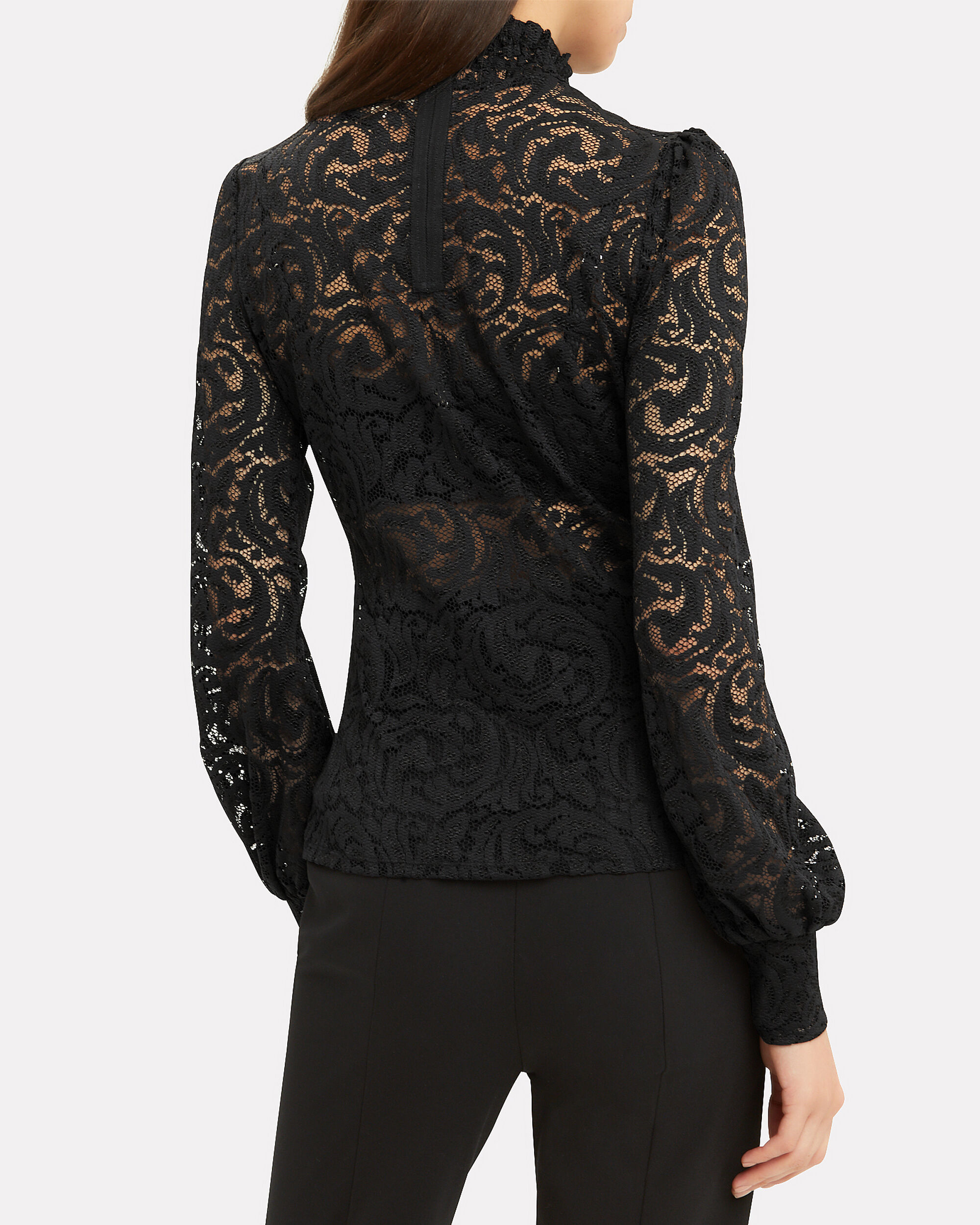 Samara Lace Top, BLACK, hi-res