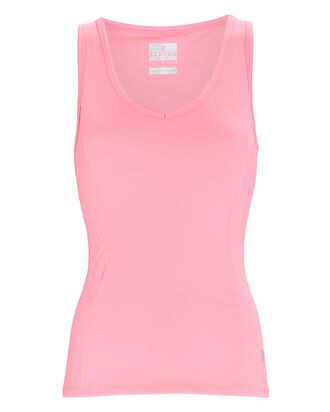 High Vibes Tennis Tank, PINK, hi-res