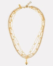 Eventine Layered Chain-Link Necklace, GOLD, hi-res
