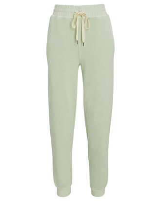 Oakland French Terry Joggers, LIGHT GREEN, hi-res
