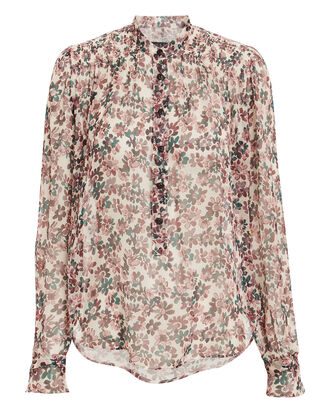 Susan Floral Top, MULTI, hi-res