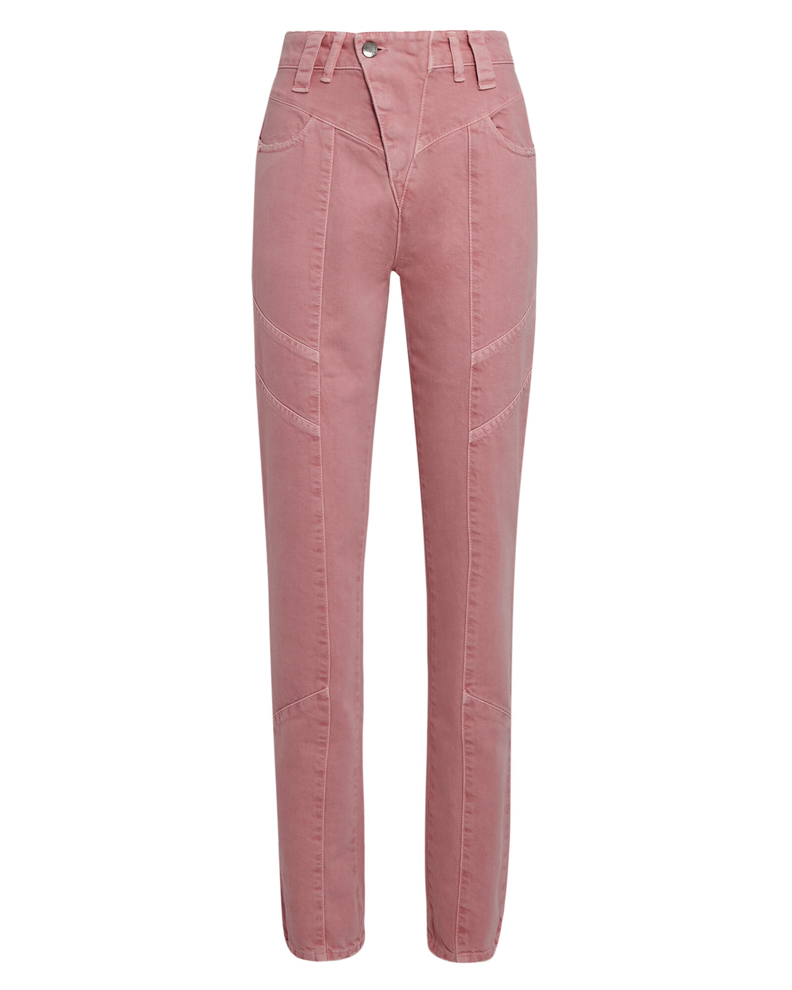 Taylor High-Rise Jeans, PINK, hi-res
