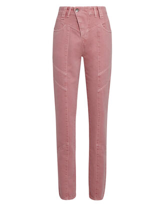 Taylor High-Rise Jeans, PINK DENIM, hi-res