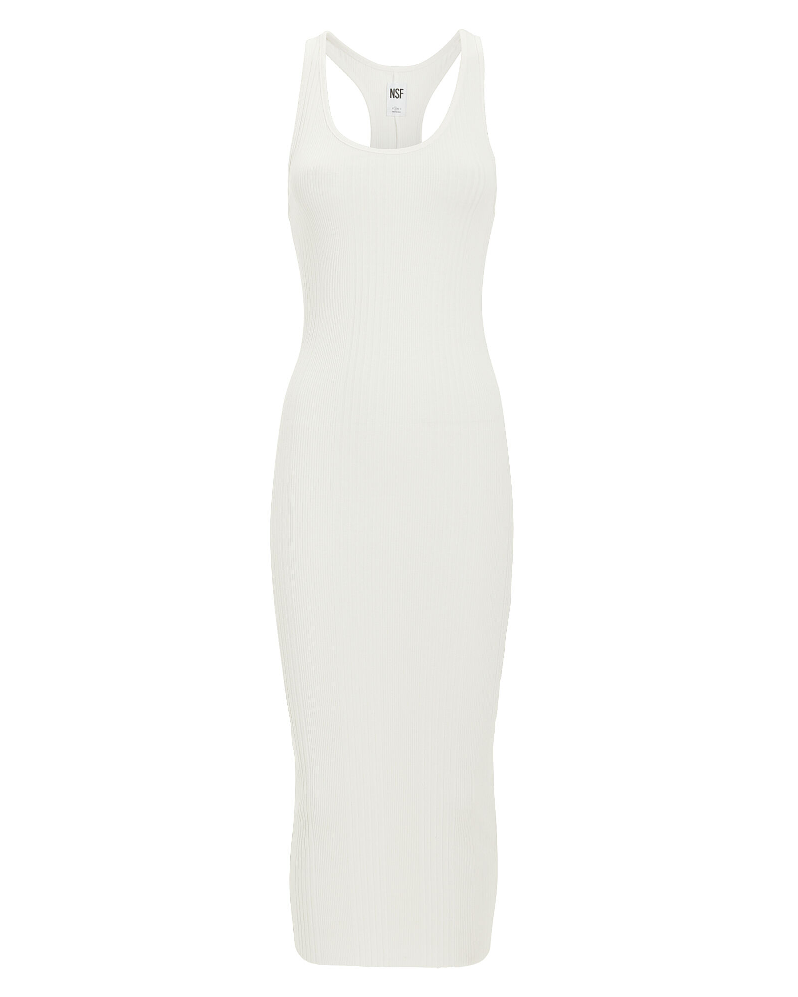 Coqui Knit Midi Dress, IVORY, hi-res