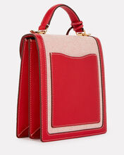 Uptown Canvas Crossbody Bag, RED, hi-res