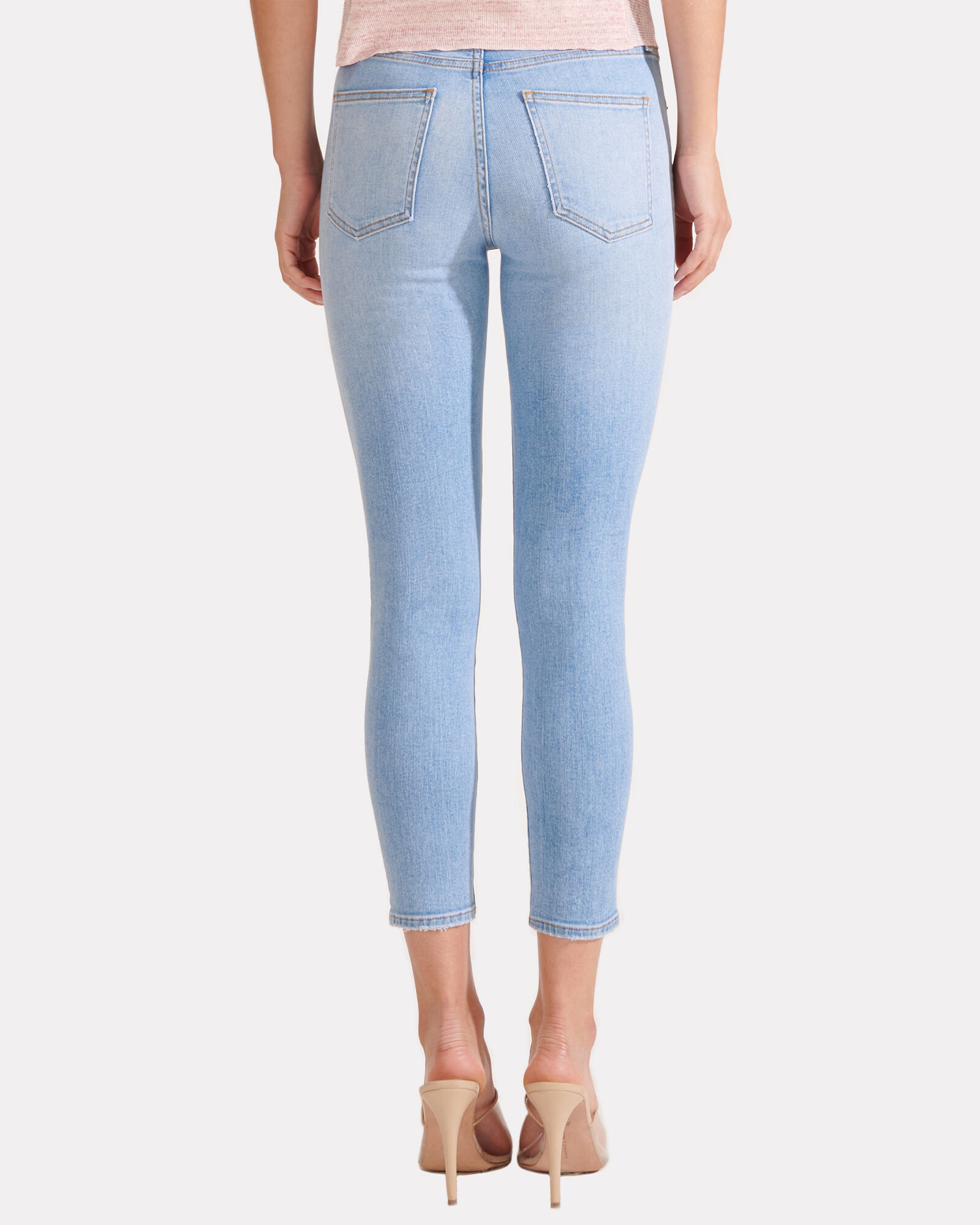 Debbie High-Rise Skinny Jeans, PALE STONE, hi-res