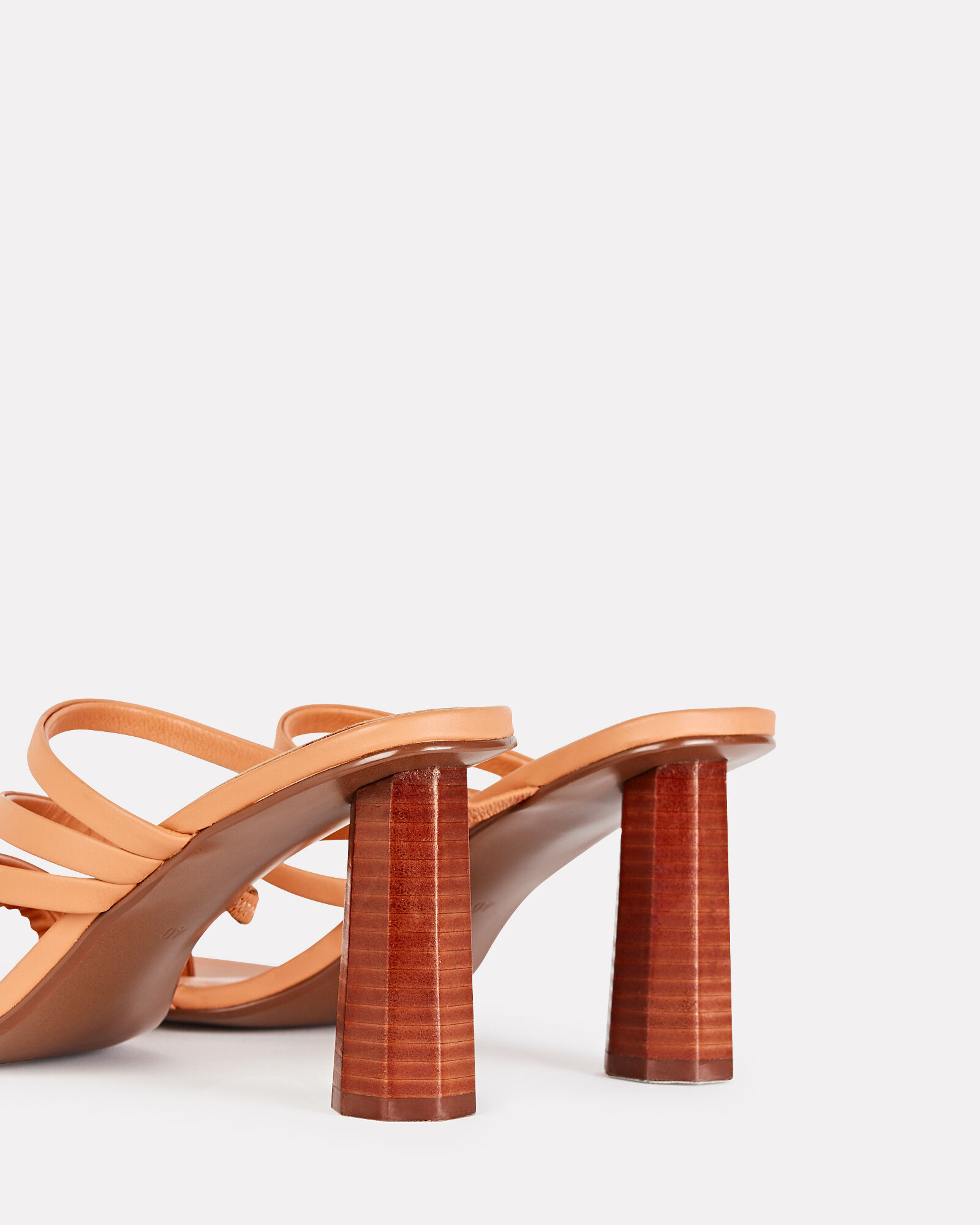 Nicola Strappy Leather Sandals, BROWN, hi-res