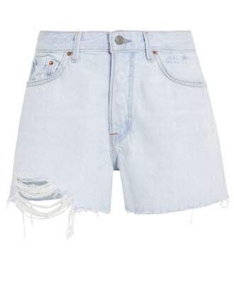 Helena Denim Shorts, FADED BLUE WASH, hi-res
