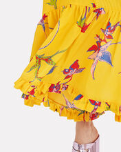 Visconti Floral Dress, YELLOW/FLORAL, hi-res