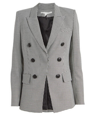 Leon Houndstooth Dickey Blazer, BLACK/WHITE, hi-res