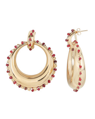 Passato Hoop Earrings, GOLD, hi-res