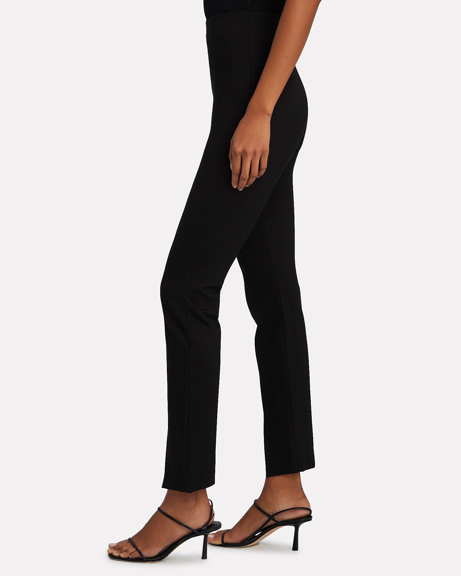 Bond Stretch Knit Leggings, BLACK, hi-res