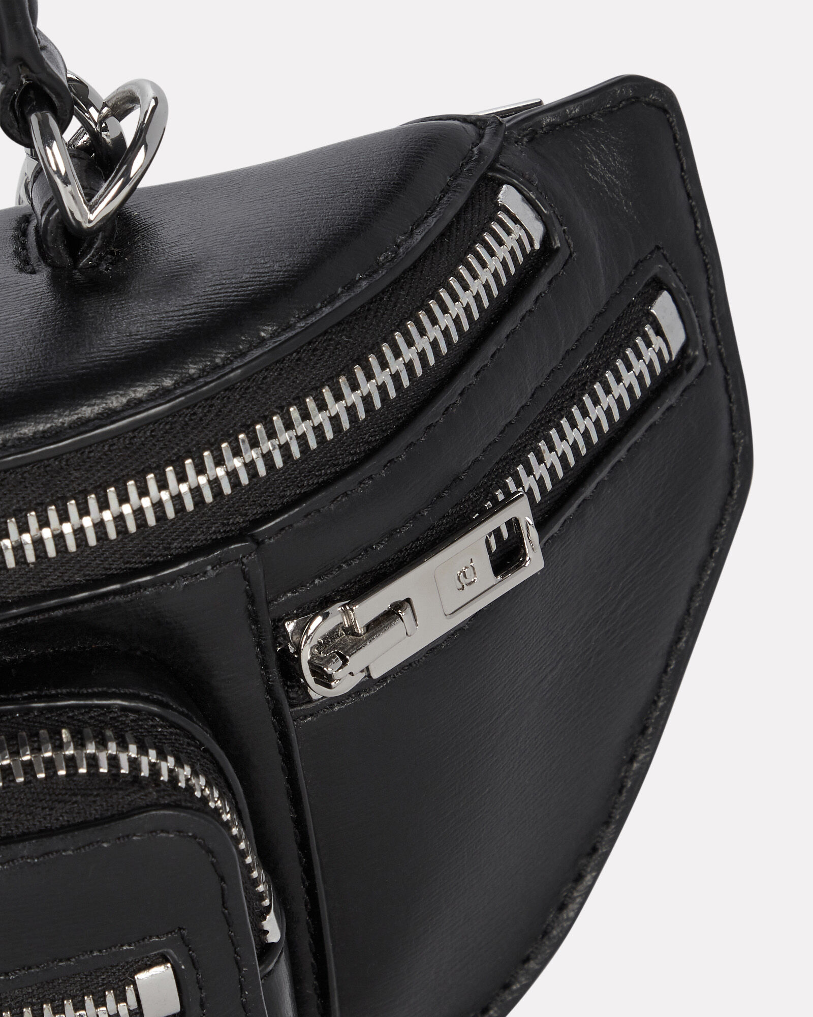 Mini Attica Crossbody Bag, BLACK, hi-res
