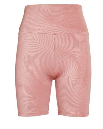 Mindful High-Rise Bike Shorts, PINK, hi-res