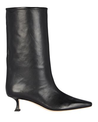 Chadee 50 Leather Boots, BLACK, hi-res