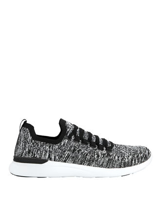 TechLoom Breeze Low-Top Sneakers, BLK/WHT, hi-res