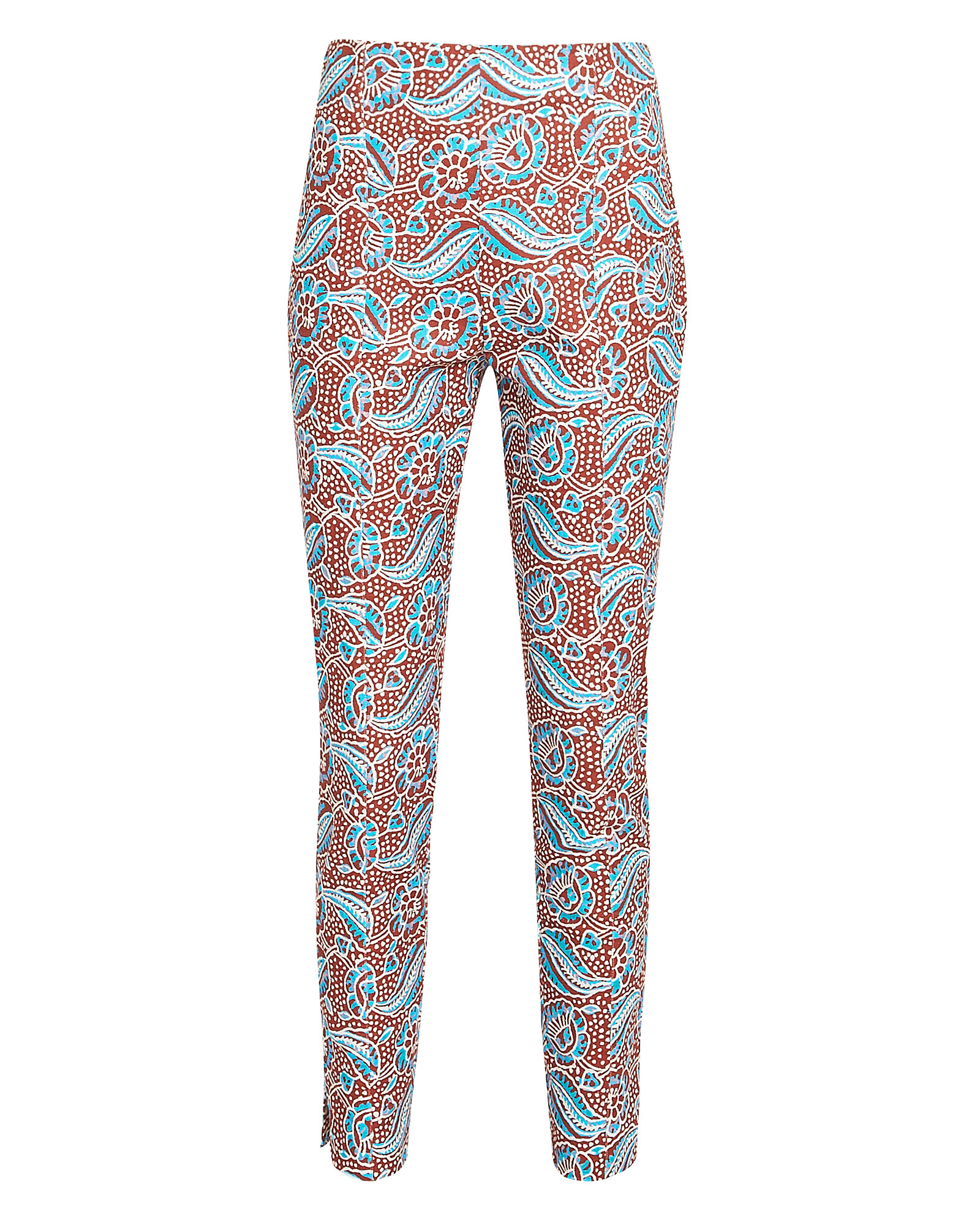 Honolulu Skinny Cropped Pants, MULTI, hi-res