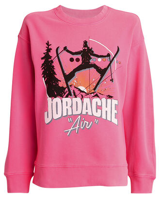 Air Oversized Sweatshirt, PINK, hi-res