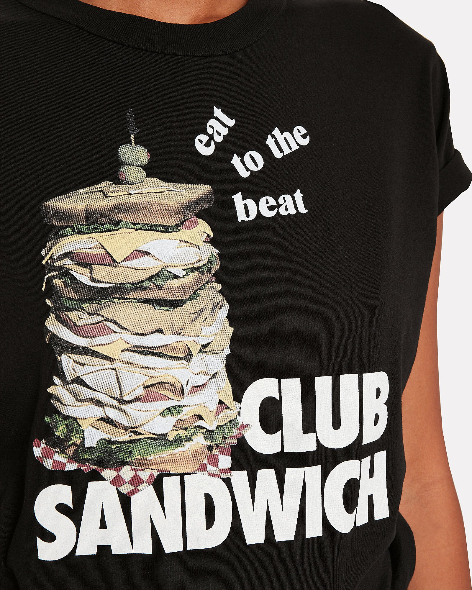 Club Sandwich Graphic T-Shirt, BLACK, hi-res