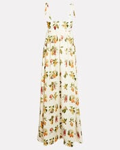 Verbena Frutas Printed Linen Dress, BEIGE, hi-res