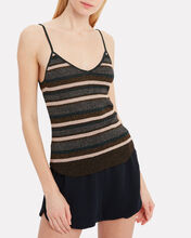 Ina Stripe Knit Tank, GREY, hi-res