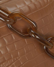 Candy Acrylic Chain Strap, BROWN, hi-res
