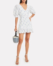 Lena Ballad Mini Dress, BLUE, hi-res