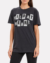 Wild at Heart Cotton T-Shirt, GREY, hi-res