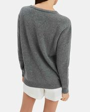 Sunday Cashmere Sweater, GREY, hi-res