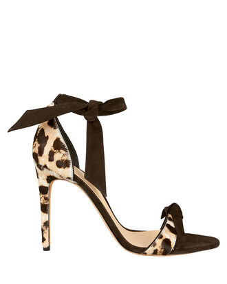 Clarita 100 Leather Sandals, LEOPARD PRINT, hi-res