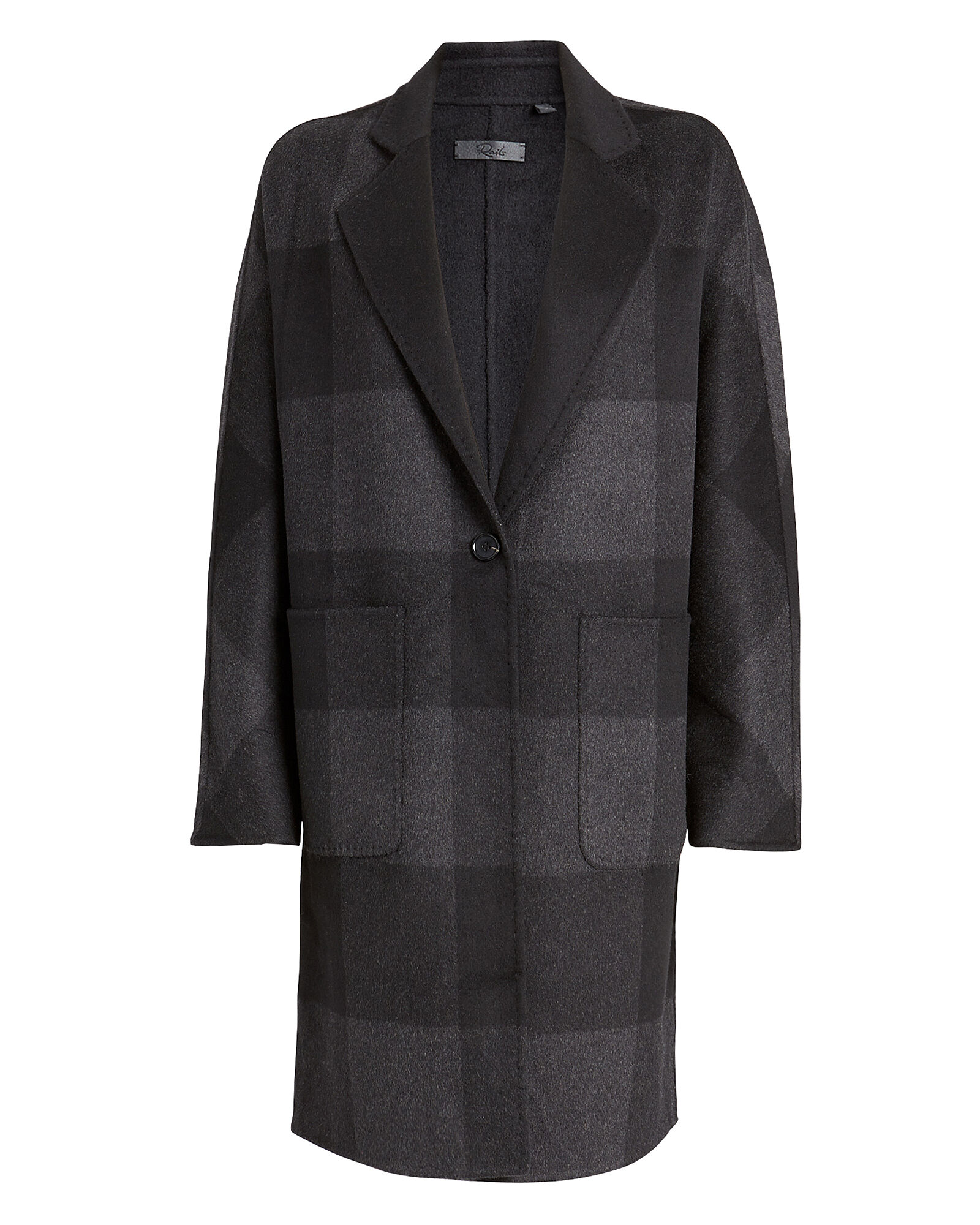 Larsen Buffalo Checked Reversible Coat, MULTI, hi-res