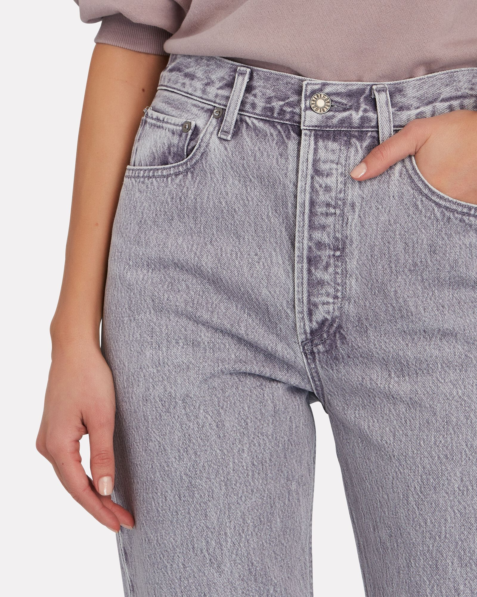 Fitted 90s Straight-Leg Jeans, ASHBERRY, hi-res