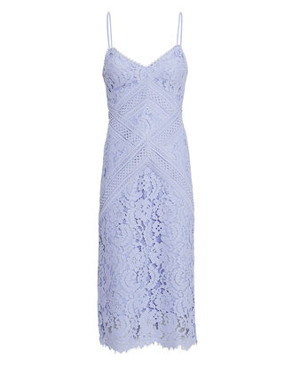 Melody Lace Dress, BLUE-LT, hi-res