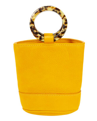 Bonsai Yellow Mini Bucket Bag, YELLOW, hi-res