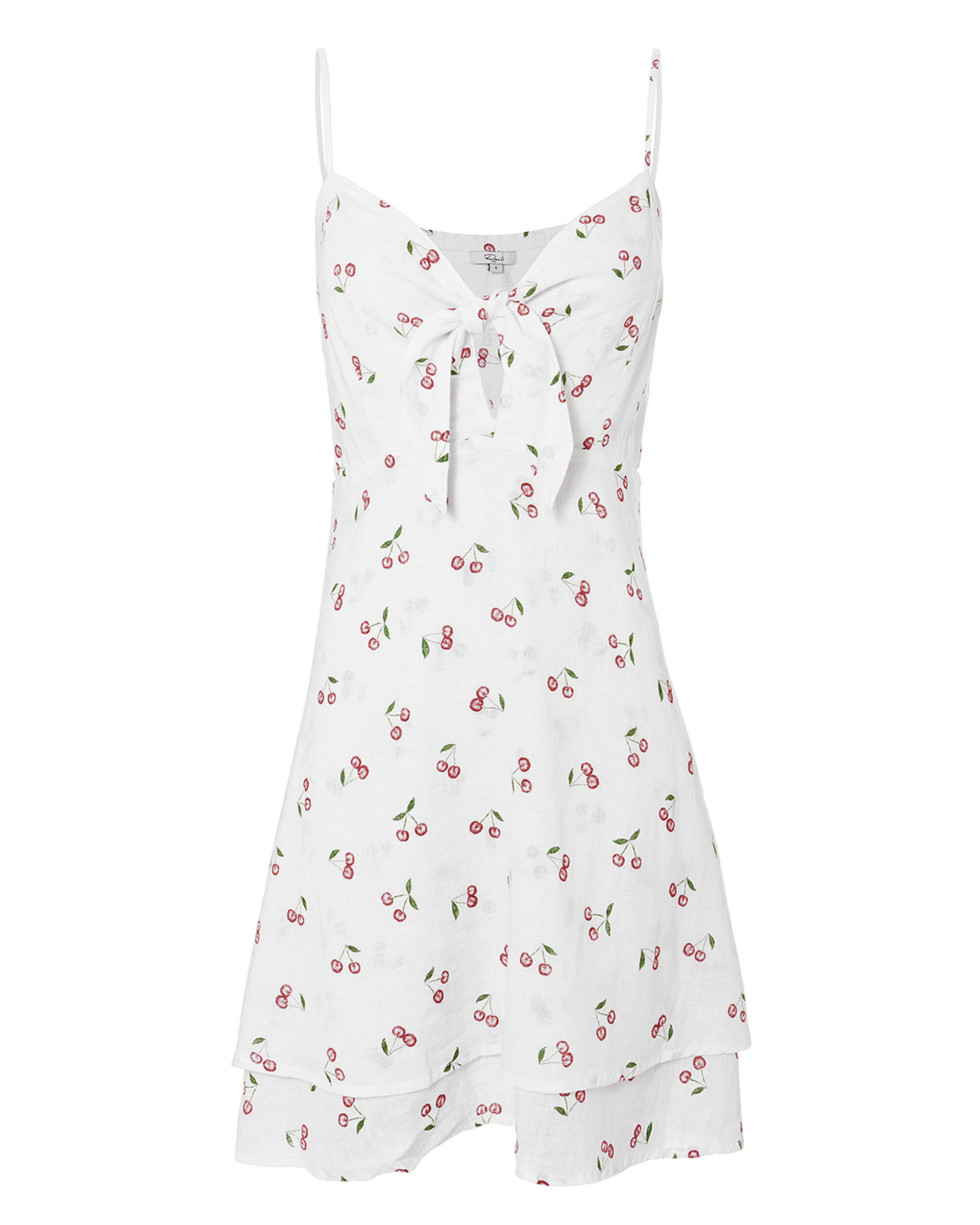 August Cherry Print Dress, MULTI, hi-res