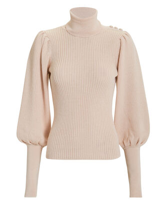 Brynn Turtleneck Sweater, BLUSH, hi-res