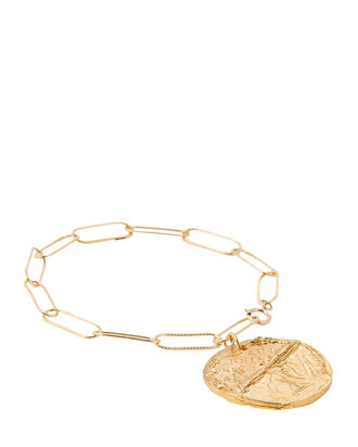 The Conflicted Chain-Link Bracelet, GOLD, hi-res