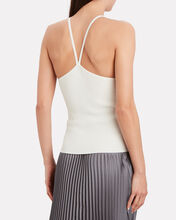 Mackenzie Knit Tank Top, WHITE, hi-res