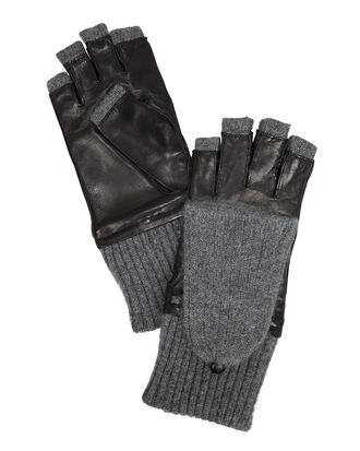 Pop Top Gloves, BLACK, hi-res