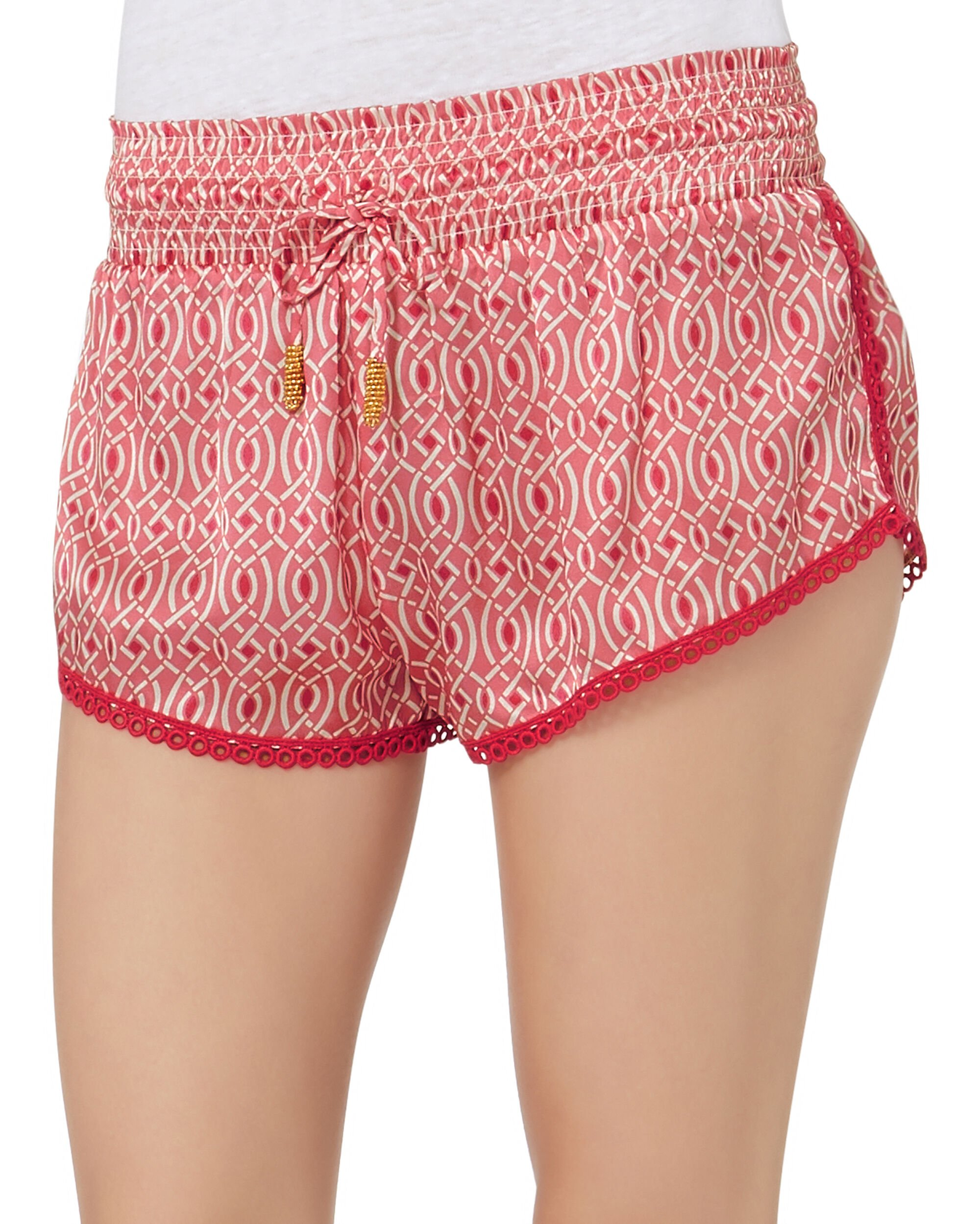 Lynx Rose Shorts, PRINT, hi-res