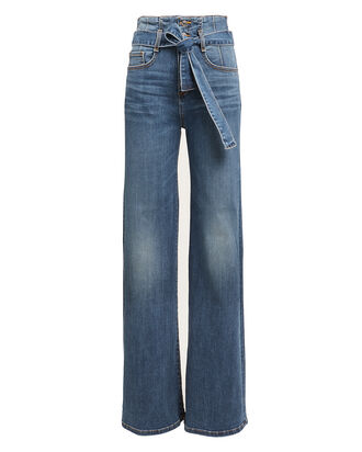 Rosanna Wide Leg Jeans, MEDIUM WASH DENIM, hi-res