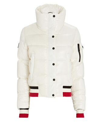 Cori Down Puffer Jacket, WHITE, hi-res