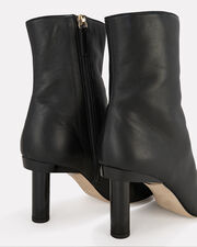 Grant Colorblock Leather Booties, BLACK LEATHER, hi-res