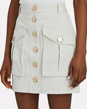 Dunbar Cargo Mini Skirt, LIGHT GREEN, hi-res