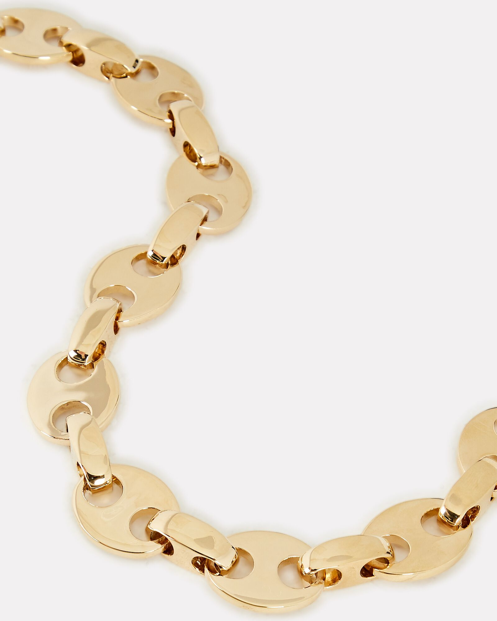 Eight Chain-Link Necklace, GOLD, hi-res