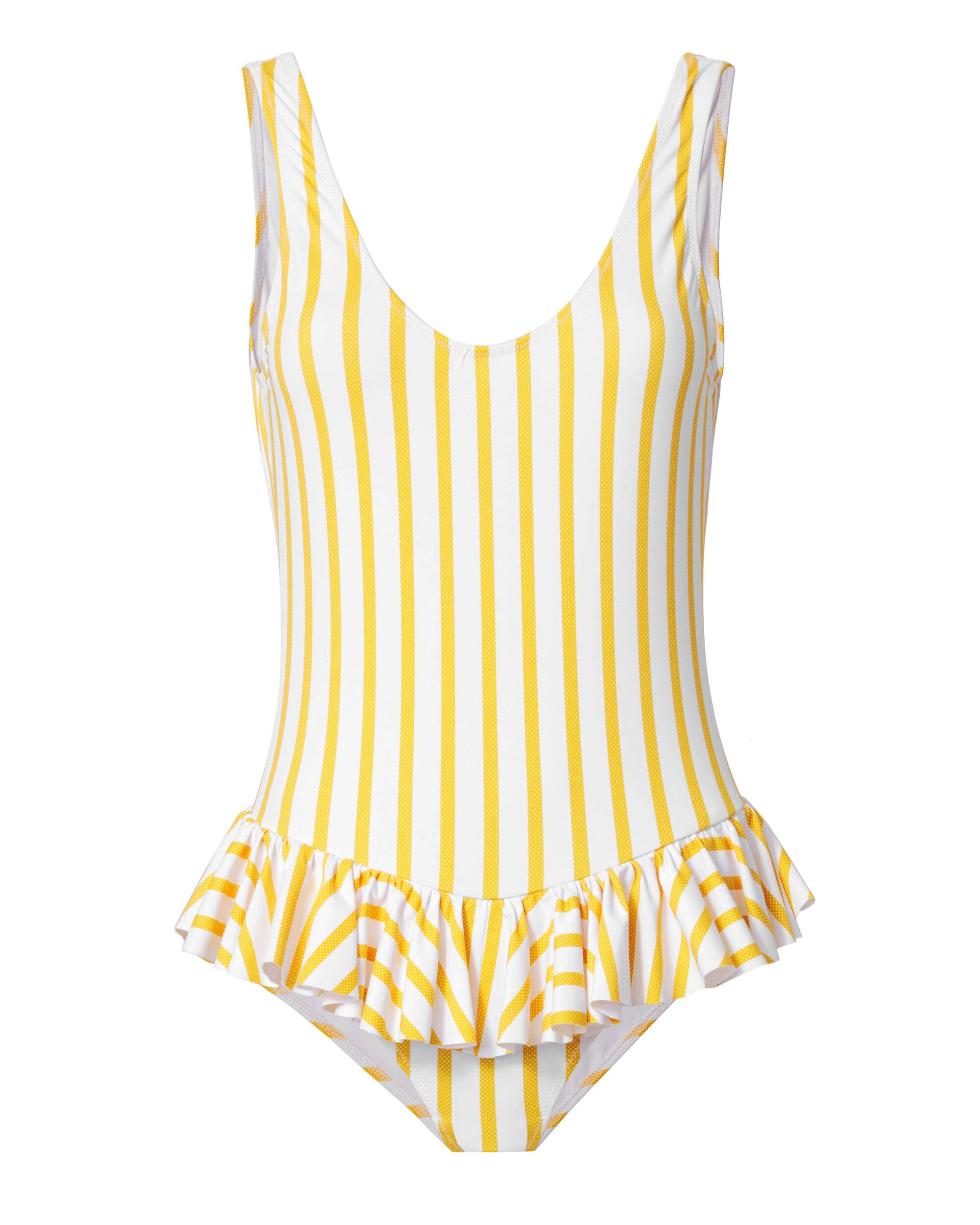 Tinos Polka Dot Striped One Piece Swimsuit, STRIPE, hi-res