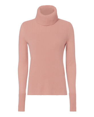 Asa Blush Cashmere Turtleneck, BLUSH/NUDE, hi-res